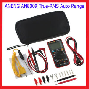 Aneng An8009 True rms Auto Range Digital Multimeter Ac dc Voltage Multimeter 146