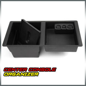 For 14 17 Gm Center Console Organizer For 22817343 Front Floor Insert Tray