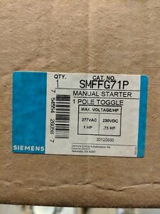 Siemens Brand Starter And auto off hand Spdt Selector Switch