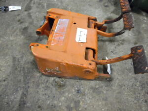 Allis chalmers 180 Tractor Brake clutch Pedal Housing Tag 475