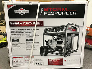 Briggs Stratton 6250 Watt Storm Responder Gasoline Powered Portable Generator