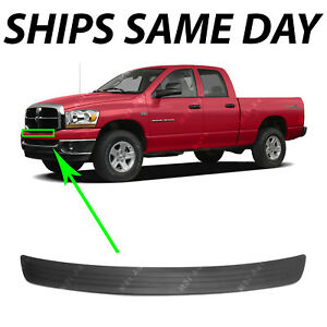 New Textured Black Front Bumper Upper Top Step Pad For 2006 2009 Dodge Ram 06 09