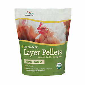 Manna Pro Organic Layer Pellets Hen Feed 30lb
