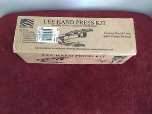 Lee Hand Press Reloading Kit Lee 90180 Used and Ready to Use Again!