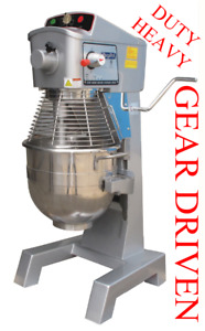 Single Phase 110 Volt Planetary Mixer Pizza Dough Heavy Duty Gear Drive W Timer