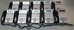 Lot Of 10 Nec Ip1na 12txh 22b Aspire 22 button Office Business Phones Handsets