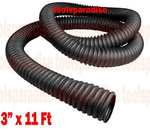 Exhaust Ventilation Hose Interconnected Flare End Rubber Vent Tube Tail Pipe 3