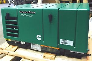 Cummins Onan Quiet Gasoline Series Rv Qg 4000 Rv Generator Set New