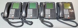 Lot 4 Toshiba Strata Dkt3014 sdl 14 button Charcoal Large Display Speakerphone