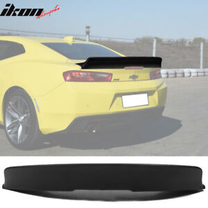 Fits 16 19 Chevy Camaro Ikon Style Duckbill Trunk Spoiler Unpainted Pp