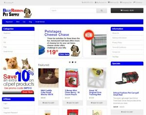 Pet Supply Products Turnkey Website For Sale Established Domain