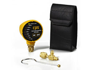 Cps Products Vg100a Portable Vacuum Gauge Led Indicators Atmospheric To 25