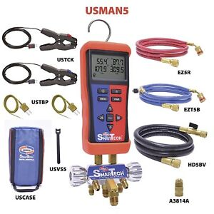 Uniweld Usman5 Smartech Wireless Digital Manifold Bluetooth Supported