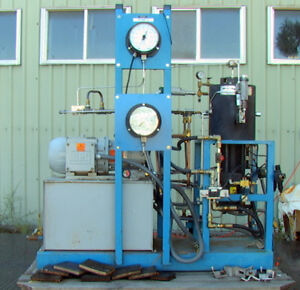 Fluitron Hdsc 4000 60 000 Psi Metal Diaghragm Gas Compressor 5hp 100k Psi Gauges