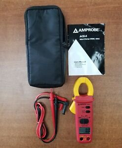 Amprobe Acd 4 Clamp on Multi meter Compact 400a
