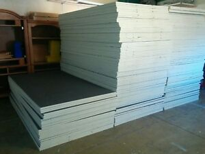 4 X 8 Polyisocyanurate Foam Insulation 10 Sheets Factory Seconds