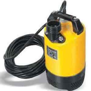 Wacker Neuson Psa2 800 Submersible Pump Automatic Switch 220v 60hz 1 Hp