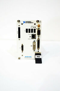 usa National Instruments Ni Pxi 8108 Core 2 Duo 2 53 Ghz Controller Win 7