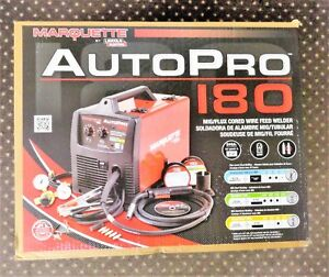 Brand New In Box Lincoln Electric Pro Mig 180 Mig flux Cored Wire Feed Welder