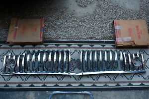 Nos 1950 Desoto S 14 Grille Both Inner And Both Outer Sections