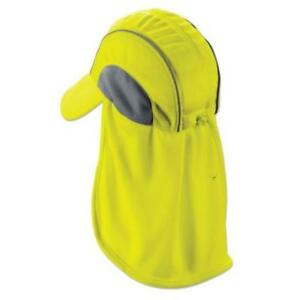 Ergodyne 6650 Lime High Performance Hat With Neck Shade Protective Gear Quick