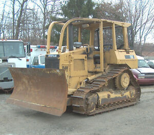 Used 1989 Cat D4h Series Ii Dozer W 6 way Blade
