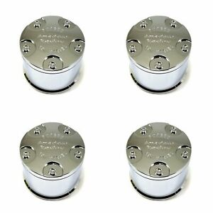 4 American Racing Atx Series Chrome Center Caps 5 6l Ar969 Ansen Offroad Ar767