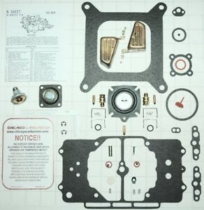 1958 69 Ultimate Carb Kit W Diaphragm Floats Ford Mustang Motorcraft 4100 New