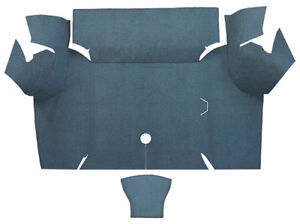 1967 1968 Ford Mustang Trunk Mat Loop Fits Coupe Trunk Kit Floor Only