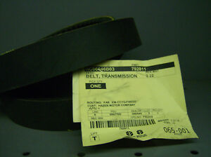New Holland Tr95 tr96 tr99 Combine Cleaning Fan Drive Belt 792811