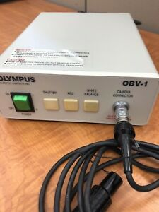 Olympus America Inc Obv 1 Compact Endoscope Camera Connector Pre owed