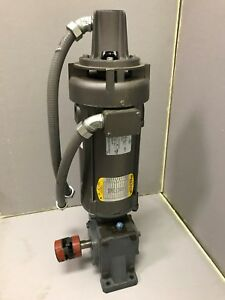 Electric Baldor Industrial Motor 0 75hp And Boston 700 Series Speed Reducer