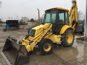 2001 New Holland 575e Loader Backhoe 4x4 5536 Hours One Owner Machine