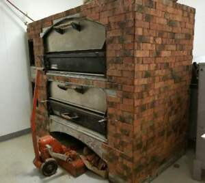 Marsal Pizza Oven Mb 60 Double Stack 2 Deck With Stones Free Shipping