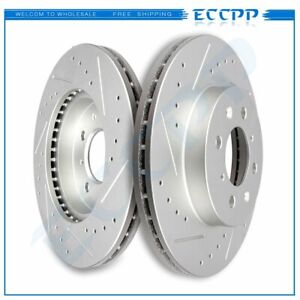 Front Brake Rotors For 93 94 95 96 97 98 99 00 01 02 05 Honda Civic Coupe Sedan