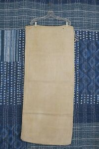 Antique European Hemp Grain Sack Rare Plain No Stripes