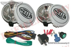 Pair Hella Comet 500ff Kit Spot Driving Lamp Light covers Rally Jeep Truck usd