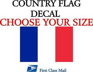 French Country Flag Sticker Decal 5yr Vinyl State Flag
