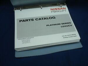 Nissan Forklift Platinum Series Lo2ucv Parts Manual 2005 Lqqk