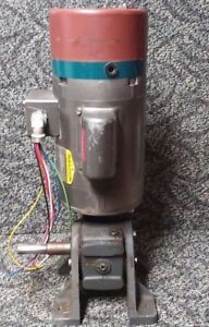 Baldor I 2 Hp 115 Volt Electric Ac Motor With Winsmith 30 1 Speed Reducer