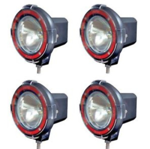 4x 4 Inch Hid Off Road Lights Flood Lamps
