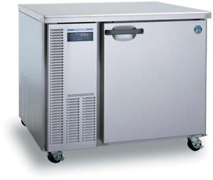 Hoshizaki Commercial Freezer Undercounter Stainless Steel 1 section Model Huf40a