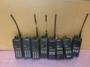 Lot Of 8 Motorola Mts2000 Flashport Radio H01uch6pw1bn as Is