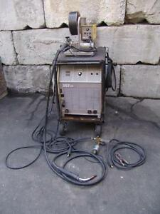 Esab 352cv Welding Power Supply With Esab Mig 35 Wire Feeder