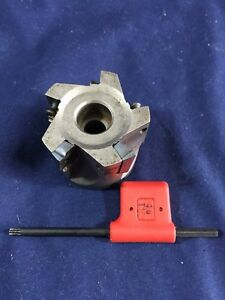 Ingersoll 2 Indexable Face Mill Milling Cutter Model 2j6b02r01 Free Shipping