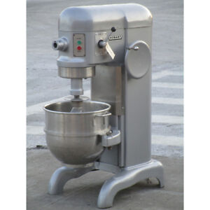 Hobart 60 Quart H600 Mixer 115 Volt Excellent Condition