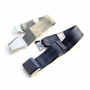 Faa Approved Airplane Seat Belt Extender 2 pack Fits All Airlines type A B