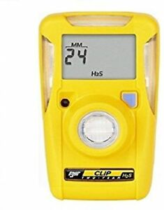 Bw Technologies Bwc2 h Bw Clip Single Gas H2s Monitor New 18 Month Left
