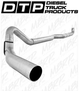 4 Mbrp Exhaust Chevy Gmc Duramax Diesel 2001 2007 Straight Pipe S6004plm