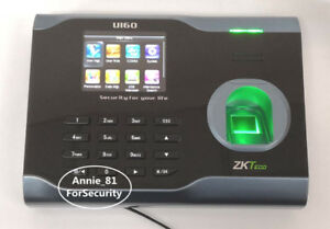 Zkteco U160 Tcp ip Fingerprint Time Attendance Zk Wifi Fingerprint Time Clock